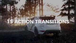 Dynamic Action Transitions Premiere Pro Templates