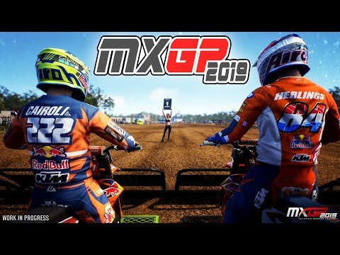 FIRST LOOK at GAMEPLAY from MXGP 2019 – The Official Motocross Videogame