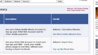 Embee Mobile Wallet on Facebook - Get Free Prepaid Cell Phone Minutes