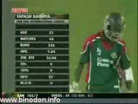 January 2005: Bangladesh vs Zimbabwe ODI -1
