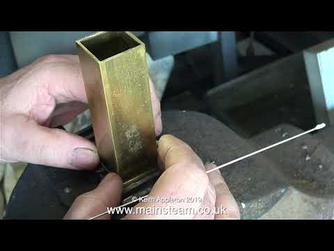 HOW TO MAKE A STUART 5A STEAM ENGINE CROSSHEAD OILER - PART #1