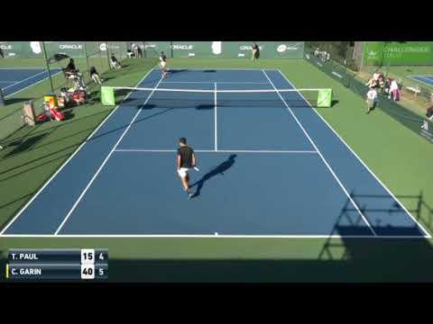 Christian Garín vs Tommy Paul - 2018 Newport Beach Challenger 1R (HIGHLIGHTS)