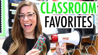 CURRENT CLASSROOM FAVORITES | Fidget Toys, Technology, and More