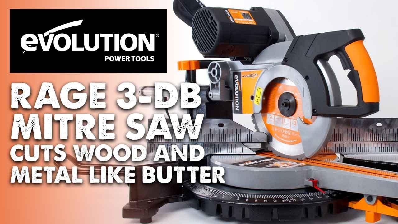 Evolution rage3 db mitre saw miter saw wood metal cut like evolution rage3 db mitre saw miter saw wood metal cut like butter greentooth Gallery