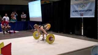 2013 American Record Makers Gillian Formaneck 55 Snatch
