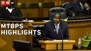 Finance Minister Tito Mboweni presented the Medium-Term Budget Policy Statement in Parliament on Wednesday. Here the highlights of his speech.  #MTBPS #TitoMboweni Budget