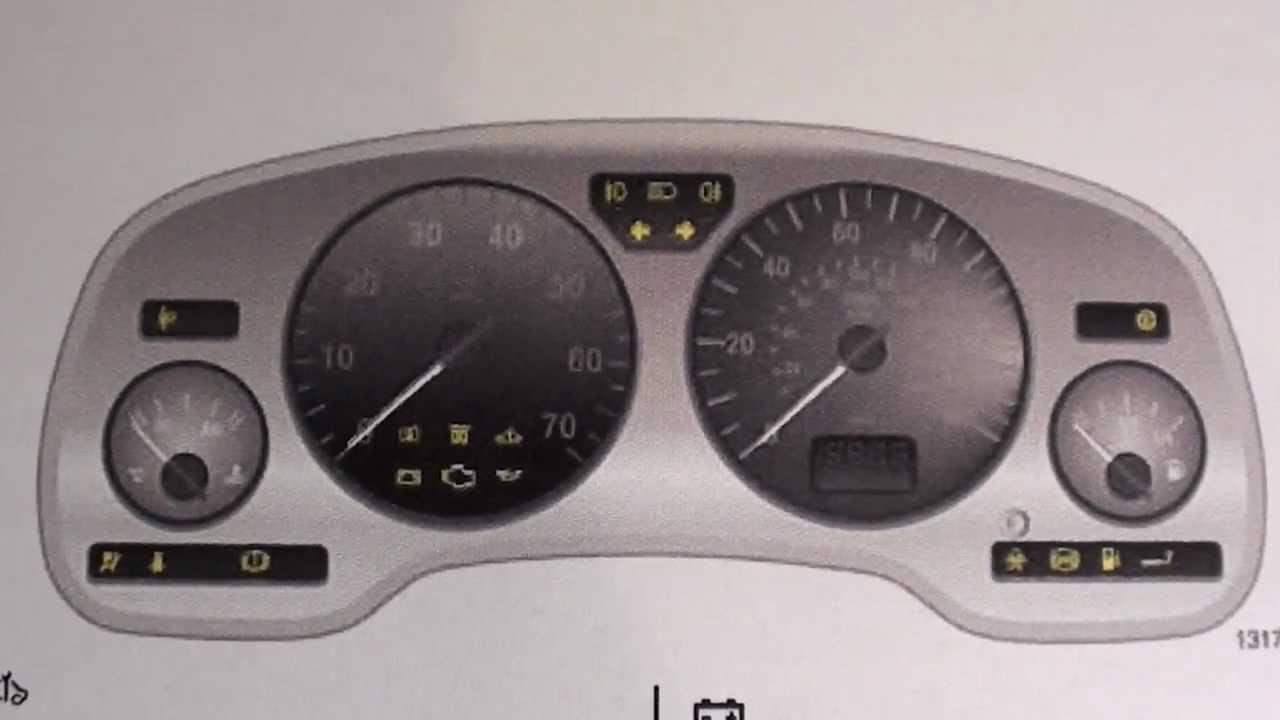 Vauxhall Zafira Dashboard Lights Not Working Centralroots