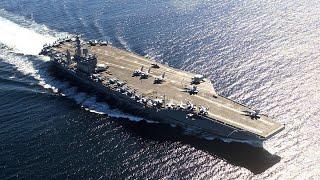 美國尼米茲號航空母打擊群已部署到美國第五艦隊行動區域