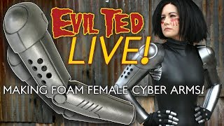Making Foam Female Cyber Arms