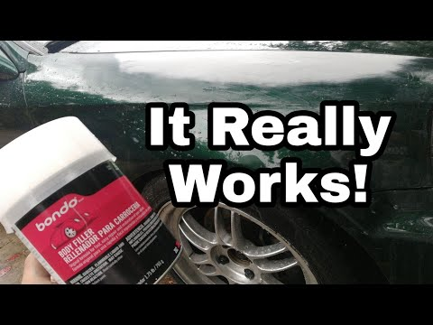 Bondo Body Filler Dent Repair DIY With Tips And Tricks