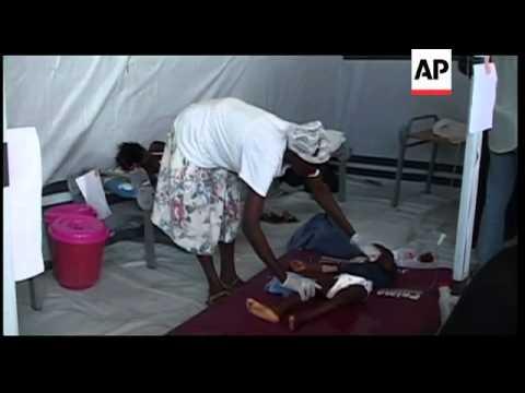 Doctors set up treatment centres as cholera epidemic spreads