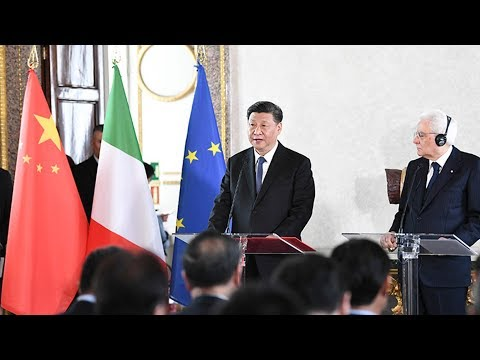 No rivalry as Chinese president visits three European countries
