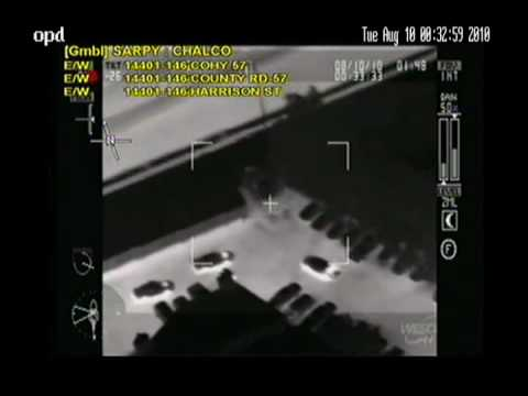 Omaha Police Chase - Helicopter Assisted!