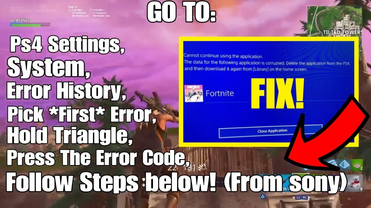 How to fix Fortnite corrupted data - YouTube