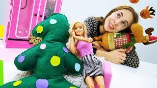 Новогодняя подушка для Барби своими руками: Создаем настроение!