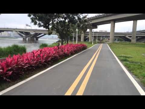 Taipei Tamsui River bike trail
