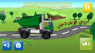 *NEW* Lego Juniors - Game Play Android - Garbage Truck and Bulldozer OMG