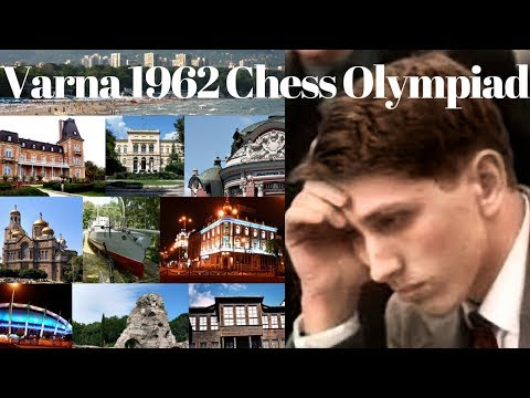Bobby Fischer's Varna Olympiad 1962 notable game encounters with Romanian chess champion Ciocaltea