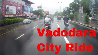 Vadodara City Ride in Rain 2017 | City Observation Full Video