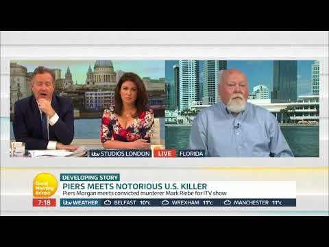 Piers Meets Notorious U.S. Killer | Good Morning Britain