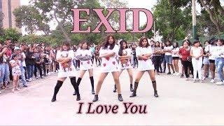 "[60Fps] EXID (이엑스아이디) ""I Love You"" - Dance Cover Leggo Squad…"
