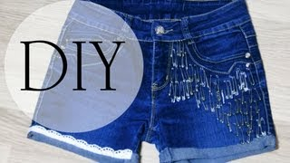 DIY как сделать шорты из старых джинс(Мои сайты: Вконтакте: http://vk.com/anutivatuti Твиттер: https://twitter.com/AnutiVatuti Instagram: http://instagram.com/anutivatuti Задавайте вопросы:..., 2013-09-27T13:03:57.000Z)