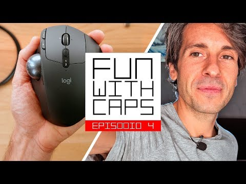 RECENSIONE Logitech MX Ergo Trackball // FUN WITH CAPS EP4