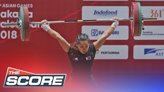 The Score: Hidilyn Diaz wins the Philippines' first gold medal in the 2018 Asian Games