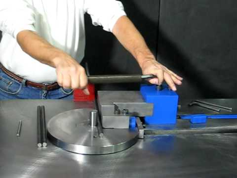 Bar Stock Bender Barstock Bending Machines Pedrick Model