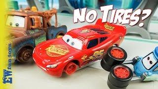 Disney Pixar Cars Diecast Toys Part 23  Mcqueen Mater No Tires New カーズ 2017