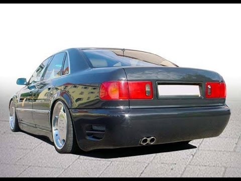 audi a8 d2 tuning body kit youtube. Black Bedroom Furniture Sets. Home Design Ideas