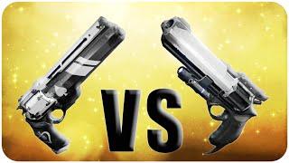 Destiny Hawkmoon vs Ace of Spades // Exotic Handcannon Comparison