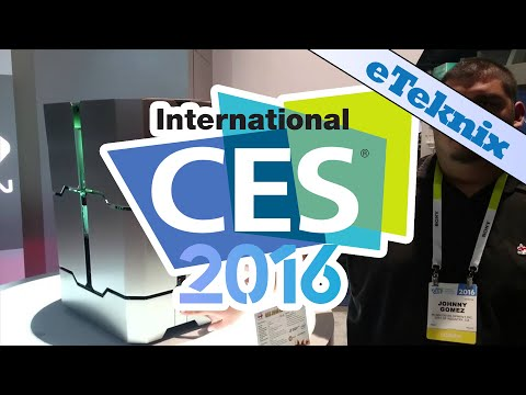 In Win H-Tower Chassis Demonstrated @ CES 2016