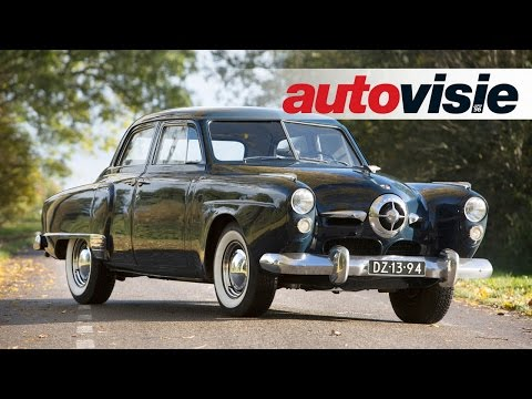 Uw Garage: Studebaker Commander DeLuxe 4-door Sedan (1949) - by Autovisie TV