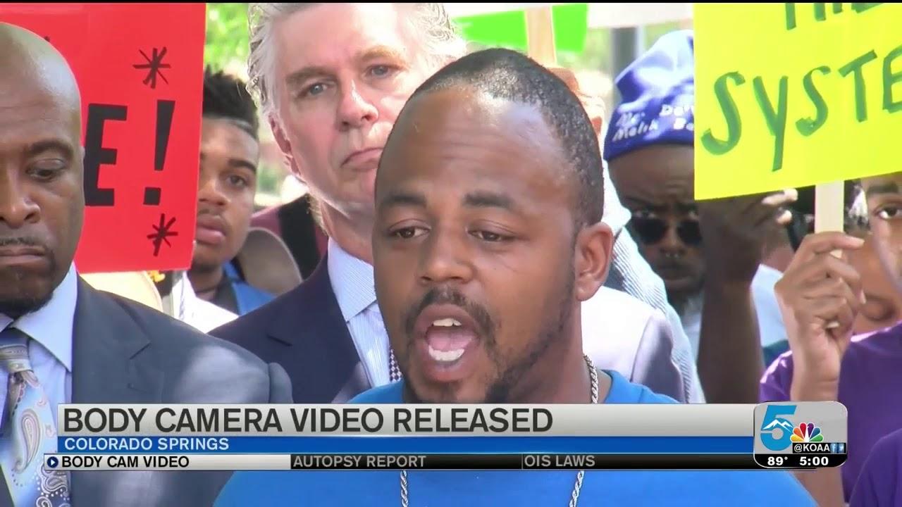 Colorado Springs Police release body cam video of De'Von Bailey shooting
