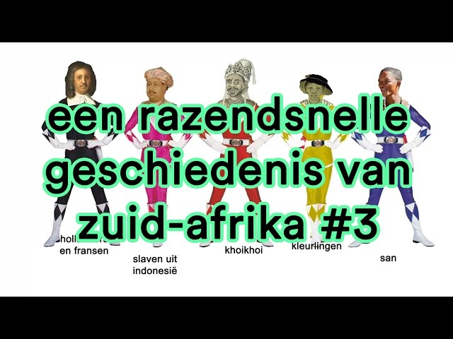 Een razendsnelle geschiedenis van Zuid-Afrika #3