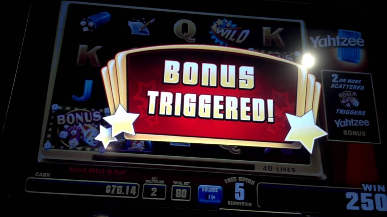 Yahtzee Slot Machine
