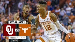 No. 20 Oklahoma vs. Texas Basketball Highlights (2018-19) | Stadium