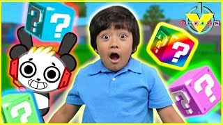 Roblox Lucky Blocks RAINBOW BLOCKS E RAINBOW CARPETS! Giochiamo Ryan Vs. Combo Panda!