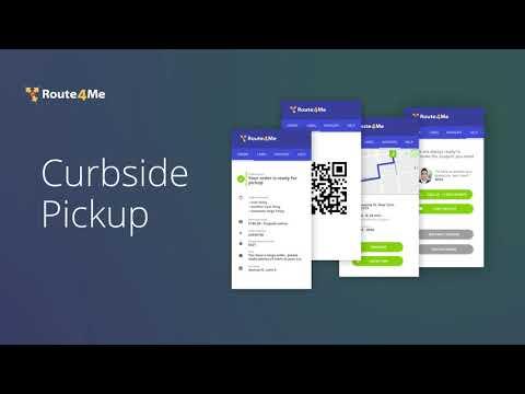 Route4Me - Curbside Pickup App