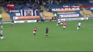 FC United of Manchester vs Chorley - FA Cup 2013