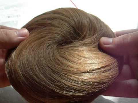 Tinydeal Synthetic Fake Hair Bun Chignon For S Light Brown Nap 96503