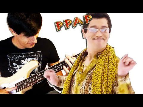 Download Youtube: Pen Pineapple Apple Pen MEETS BASS (PPAP)