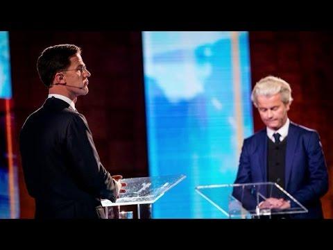 """Rutte: """"Verschrikkelijk dat Wilders kogelwerend vest moet dragen"""" - RTL LATE NIGHT"""