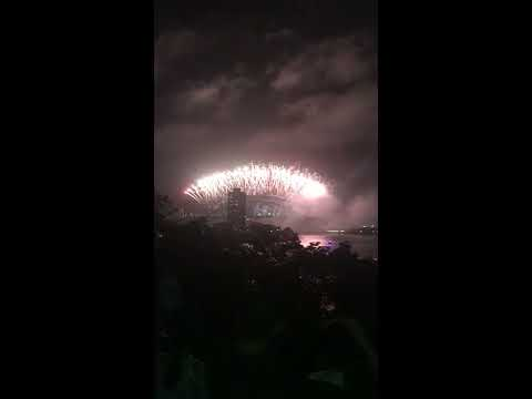 Sydney fireworks-balls head reserve