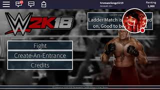 I'd codes and WWE Roblox