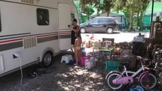 Camping el Peñón en Algamitas