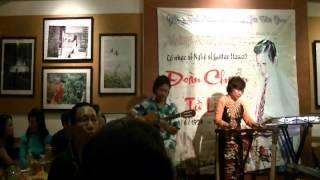 Tình nghệ sỹ - Twish sông Hồng - Guitar Hawaii Bùi Bạch Liên tại SN Đoàn Chuẩn