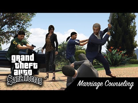 GTA SA - Missions 6 - Marriage Counseling [from V]