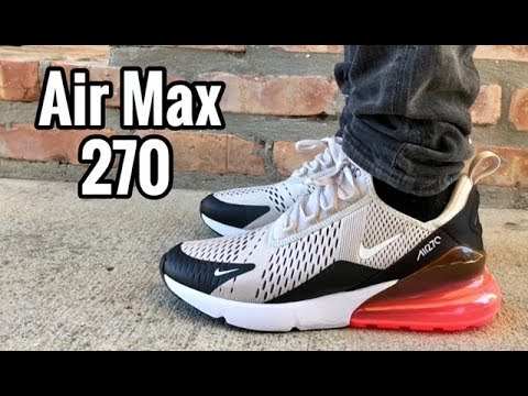 "94d2c5c7be91 Air Max 270 ""Hot Punch"" on feet - YouTube"